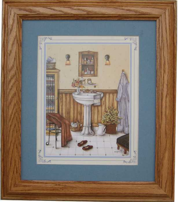 His Bathroom Print Size 8x10 20067