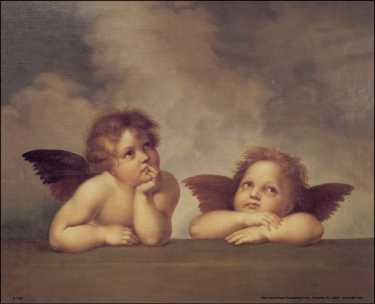 Rafael Cherub Angels Iii Paper Tole 3d Kit Size 8x10 8 1258