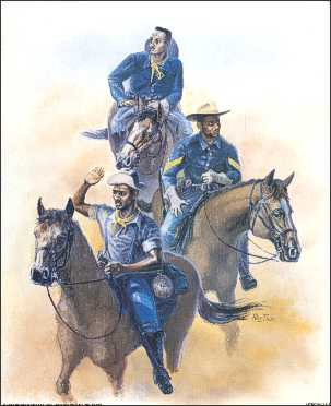 buffalo soldier essay The buffalo soldiers were african american soldiers who served in the united states army after the civil war they were the first african americans to.