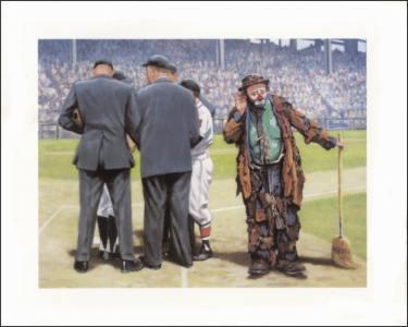 E Kelly Clowns Artful Dodger Art Prints Size 8x10 11