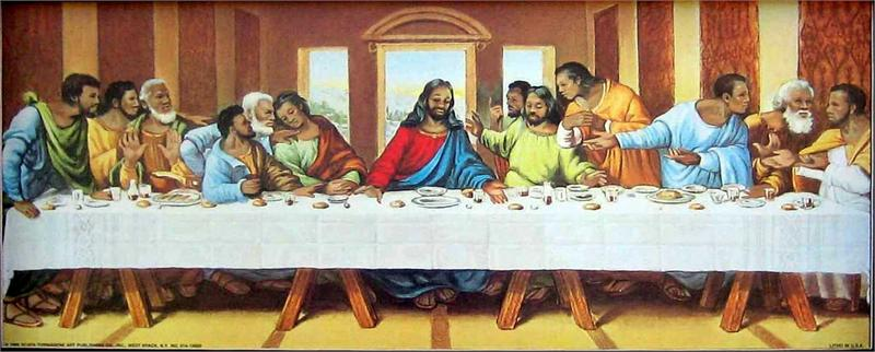 """the last supper movie essay The gospel of john is a movie about jesus  he has a brief pang of  anxiety after the last supper: """"now is my heart troubled,"""" he says,."""