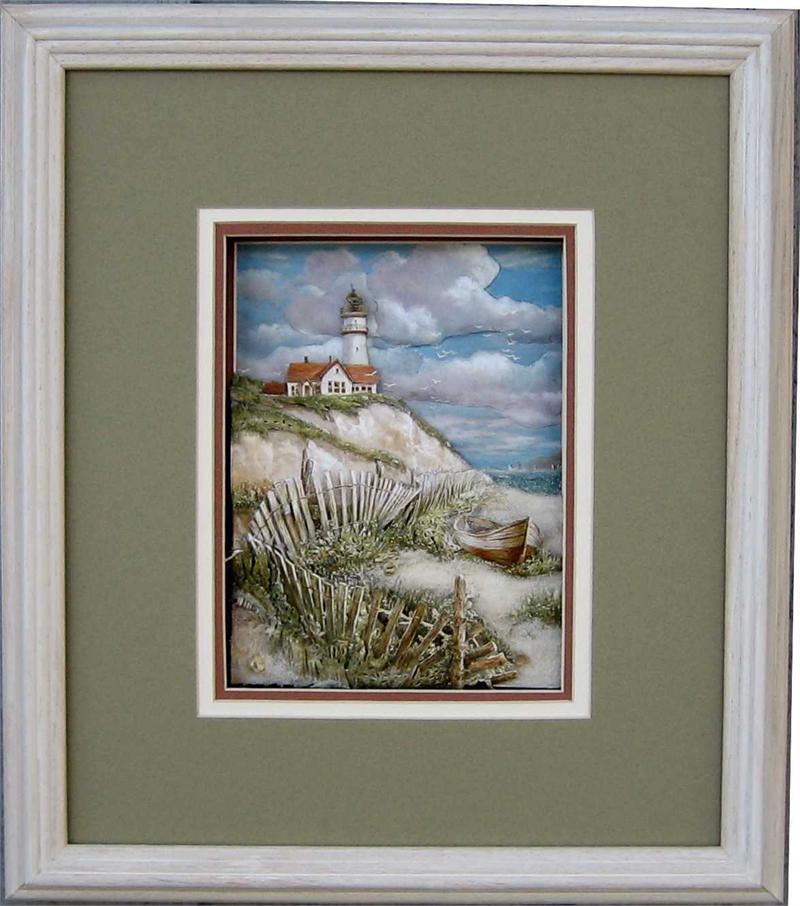 Oak Shadow Box White Wash Oak Frame Size 20x24 For 16x20