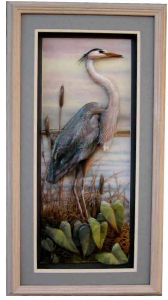 Oak Shadow Box Frame 750 White Wash Size 12x24 For 8x20