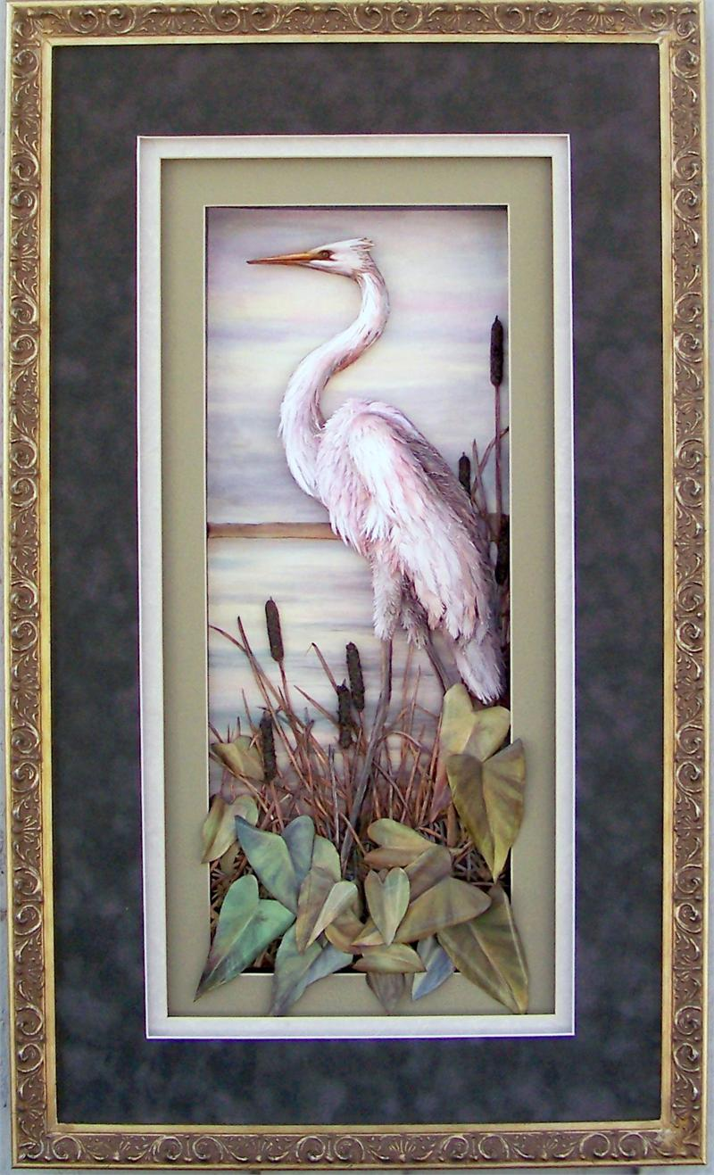 Fancy Shadow Box Frame Size 16x28 For 8x20 Picture 22182