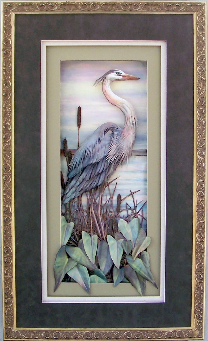 Fancy Shadow Box Frame Size 16x28 For 8x20 Picture 22183