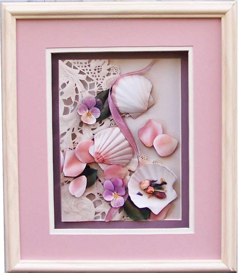 Shadow Box Frame # SB1010 10x12 for Size 6x8 Picture-51404