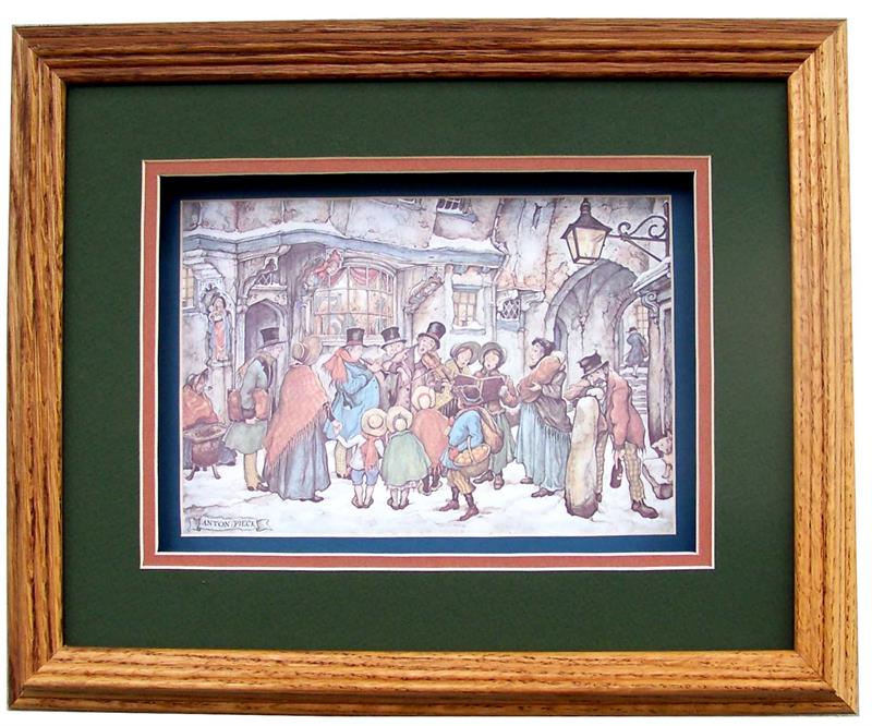 Shadow Box Frame Wheat Oak Size 11x13 For Anton Pieck 51604