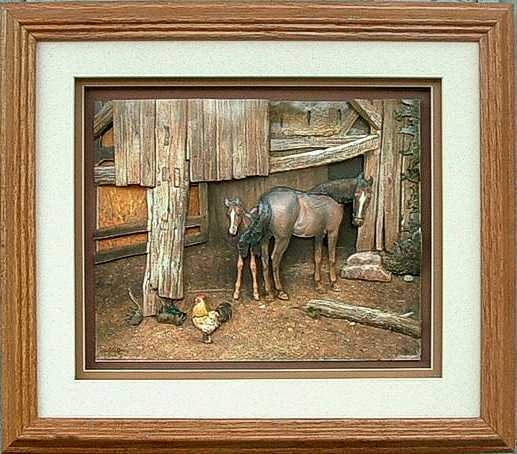 Oak Shadow Box Frame 750 Wheat Size 12x14 For 8x10