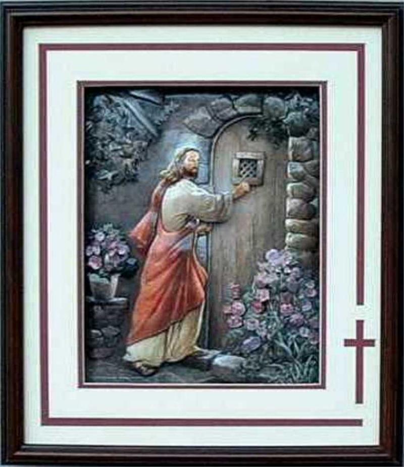Jesus Knocking Print Size 16x20 16 8087