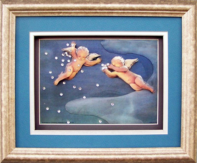 Shadow Box Frame Sil100 Silver 8x10 Inches For 5x7 8133