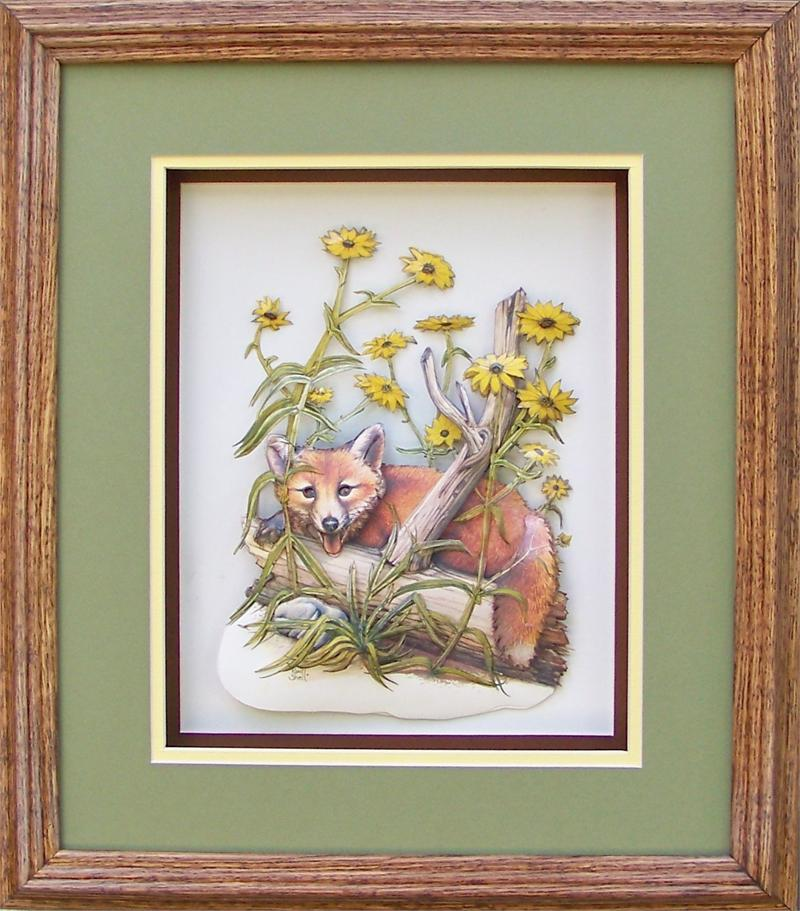Oak Shadow Box Frame 750wt 12x14 For 8x10 Picture 9250