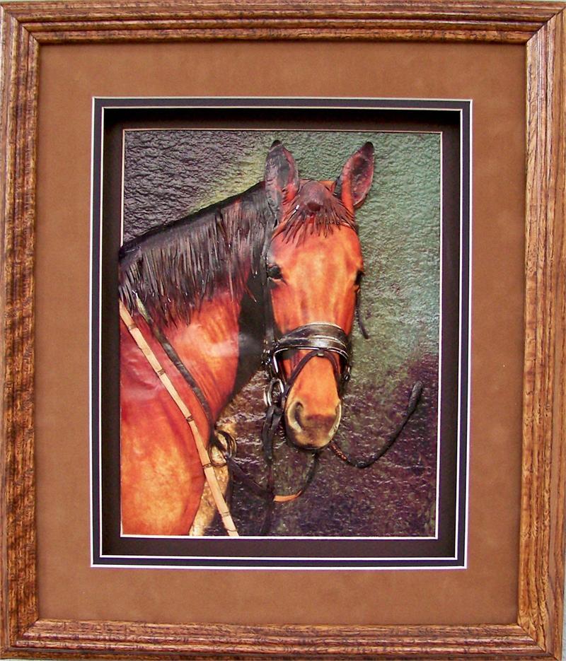 Oak Shadow Box Frame 750 Wheat Size 12x14 for 8x10 C0003