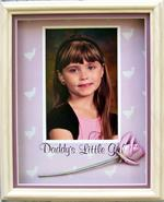 Shown Finished as a 3D Picture with my Granddaughter Kayla's Photo